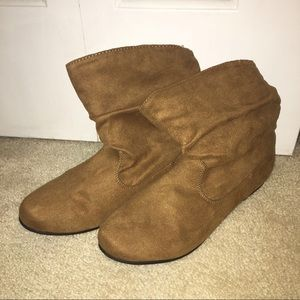 Shoes - Suede Brown Boots